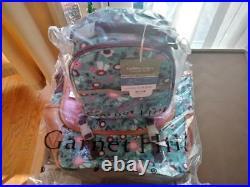 $114 Garnet Hill Flower LARGE BACKPACK + LUNCH BOX + BUTTERFLY BAG Pottery barn