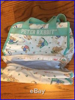13 Pc Pottery Barn Kids Toddler PETER RABBIT Crib Set