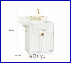 $299 POTTERY BARN KIDS Chelsea Kitchen Sink White