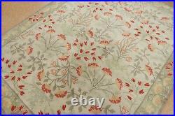 8' x 10' Pottery Barn Adeline Rug Multi New Hand Tufted Wool Ivory Carpet