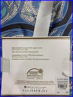 Alina Organic Cotton Patterned Duvet Cover, King/California King, Free Shipping