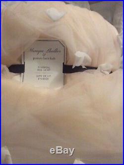 Brand New Pottery Barn Kids Monique Lhuillier Ethereal Bed Skirt Blush