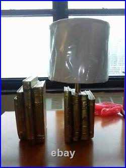 Harry Potter Gold Bookend Table Lamp Rare Pottery Barn Kids Edition