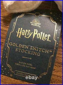 Harry Potter Golden Snitch Christmas Stocking Pottery Barn Kids Teen Blue