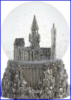 Harry Potter New NIB Pottery Barn Kids Hogwarts Castle Snow Globe Music Hedwig