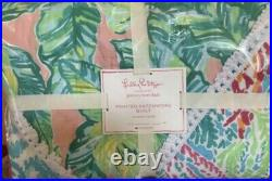Lilly Pulitzer For Pottery Barn Printed Patchwork Quilt TWIN