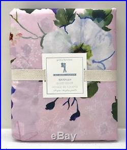 NEW Pottery Barn KIDS Organic Hannah Floral FULL/QUEEN Duvet CoverLIGHT PINK