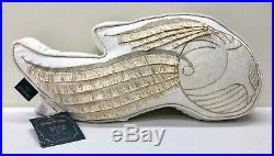NEW Pottery Barn KIDS TEEN Harry Potter Golden Snitch Shaped 18x10 Pillow