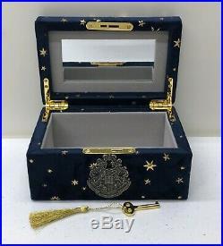 NEW Pottery Barn KIDS TEEN Harry Potter Hogwarts Gold Stars Navy Keepsake Box
