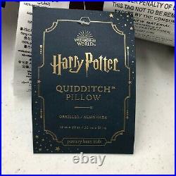 NEW Pottery Barn KIDS TEEN Harry Potter Quidditch Golden Snitch 12 x 20 Pillow