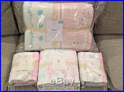 NEW Pottery Barn Kids Bailey Mermaid Full/Queen Quilt Std Shams Queen Sheet Set