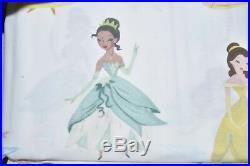 NEW Pottery Barn Kids Disney Princess ORGANIC SHEET SET 4 / 3 PC Twin Full Queen