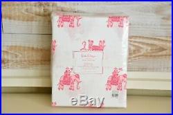NEW Pottery Barn Kids Lilly Pulitzer Elephant Bazaar Organic TWIN Sheet Set NWT