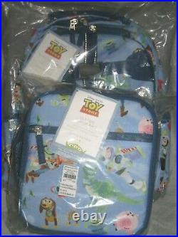 NEW Pottery Barn Kids SMALL Toy Story Backpack + Classic Lunch Bag