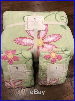 NEW Pottery Barn kids Addison quilt and 2 shams