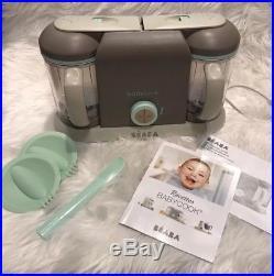 NIB Beaba Babycook Pro 2X Baby Food Maker Latte Mint, Pottery Barn Kids