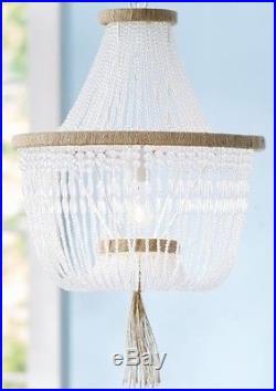 NIB Pottery Barn Kids Rissa Crystal Beaded chandelier