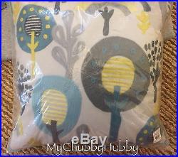 NWT Pottery Barn Kids 5Pc DASH CRIB Quilt BUMPER Sheet+ ZOO ANIMALS Geo Aqua