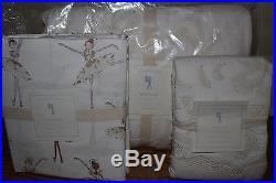 NWT Pottery Barn Kids Adrienne twin quilt, standard sham & sheet set