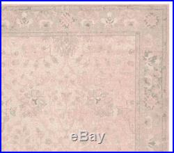 New Pottery Barn Kids 3x5 Monique Lhuillier Antique Printed Rug Blush