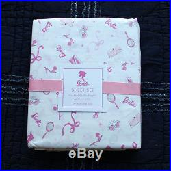 New Pottery Barn Kids Barbie Sheet Set Twin And Stacy S