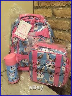 New Pottery Barn Kids Cool Bunny Small Backpack aa6facf333b85