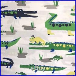 New Pottery barn kids alligator queen sheet set