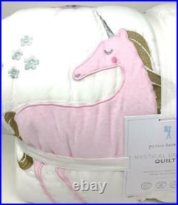 NewPottery Barn Kids Mystical Unicorn QuiltFull Queen