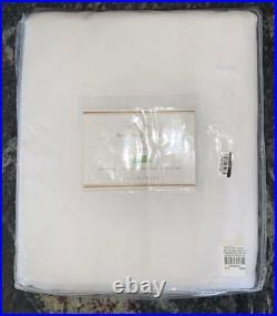NewSet of 2Pottery BarnBroadway Curtains Drapes PanelsWhite50x108