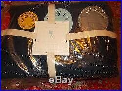 Pottery Barn Kids Eric Space Quilt, Spaceship, Planets, Full Queen, 2 Shams, New