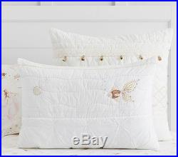 POTTERY BARN KIDS Isabelle Castle Twin Quilt & Sham Mermaid Sheets 5pc Set NEW