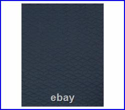 POTTERY BARN KIDS Jersey Navy TWIN Quilt & Sham w Brody Sheets 5 pc Set NEW
