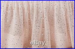 POTTERY BARN Kids Emily & Meritt Sparkle Tulle Bed Skirt Twin