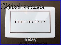 Pottery Barn $400 Gift Card Williams Sonoma West Elm Pottery Barn Kids