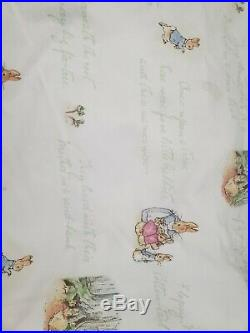 Pottery Barn Baby Kids 5 Pc Peter Rabbit Beatrix Potter Bedding Set