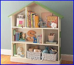 Pottery Barn Children's Bookshelf bedroom Dolls Storage Toys book case