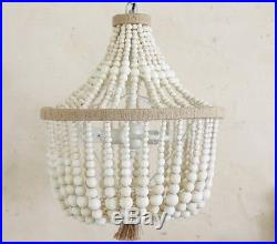 Pottery Barn KIDS DAHLIA CHANDELIER-NATURAL COLOR -NEW IN BOX-$299