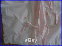 Pottery Barn KIDS JUNK GYPSY BRAMBLE ROSE BORDER QUILT, SHAM, SHEET SET-TWIN SIZ