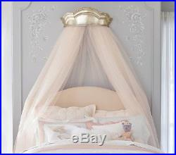 Pottery Barn KIDS MONIQUE LHUILLIER METALLIC CORNICE CANOPY With SHEERS-NEW IN BOX