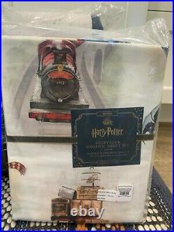 Pottery Barn Kid Harry Potter Patchwork quilt STANDARD shams storybook SHEET set