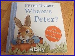 Pottery Barn Kids 6 pc PETER RABBIT Beatrix Potter Quilt Bedding Set