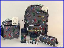Pottery Barn Kids Backpack Marvel Large Boys Bookbag Superhero Avengers New