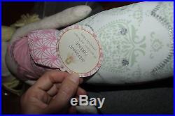 Pottery Barn Kids Bailey Ruffle twin quilt sham, sheet set & mermaid doll aqua