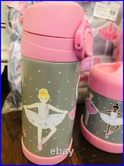 Pottery Barn Kids Ballerina Large Backpack Lunch Box Water Bottle Thermos Ballet