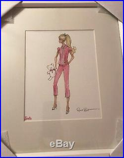 Pottery Barn Kids Barbie Art Pajamas NIB Robert Best Print Sold Out HTF