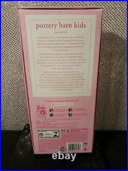 Pottery Barn Kids Barbie Doll 2009 Pink Label Mattel R3959 Mint Nrfb