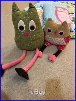 Pottery Barn Kids Brooke Woodland Twin Quilt Euro Sham 5 Pc Sheet Duvet Pillows