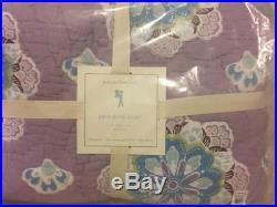 Pottery Barn Kids Brooklyn Full Quilt Standard shams Sheet Set Lavender Floral