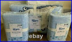 Pottery Barn Kids DISNEY PIXAR finding nemo FULL QUEEN quilt shams pillow