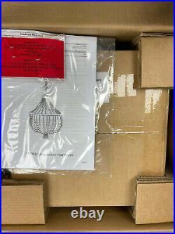 Pottery Barn Kids Dahlia Beaded Chandelier NEW IN SEALED BOX